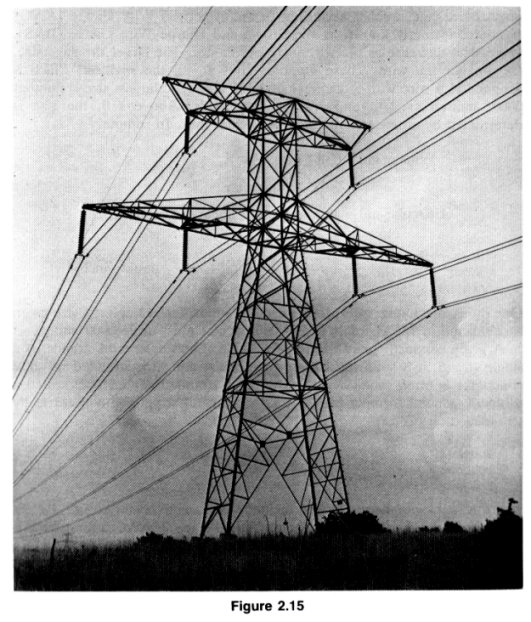Stacked H Frame Electrical Poles : Acw s insulator info book reference poles and towers