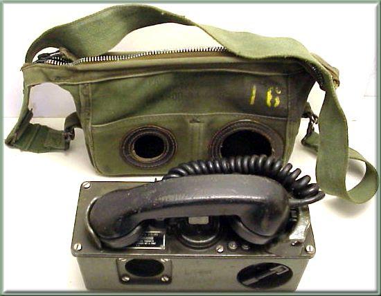 Wwii Military Telephones