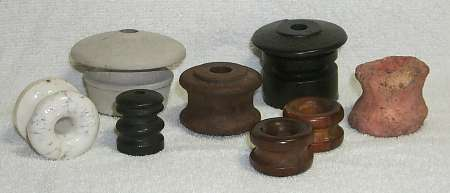 Nonglass Spool Insulators